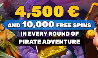 Piratenavontuur met prijzengeld bij Playamo